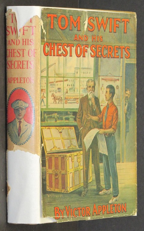 Tom Swift and His Chest of Secrets or Tracing the Stolen Inventions