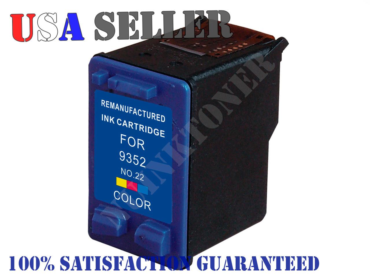 3930c_22 c9352an compatible color ink cartridge for hp deskjet 3930 hp
