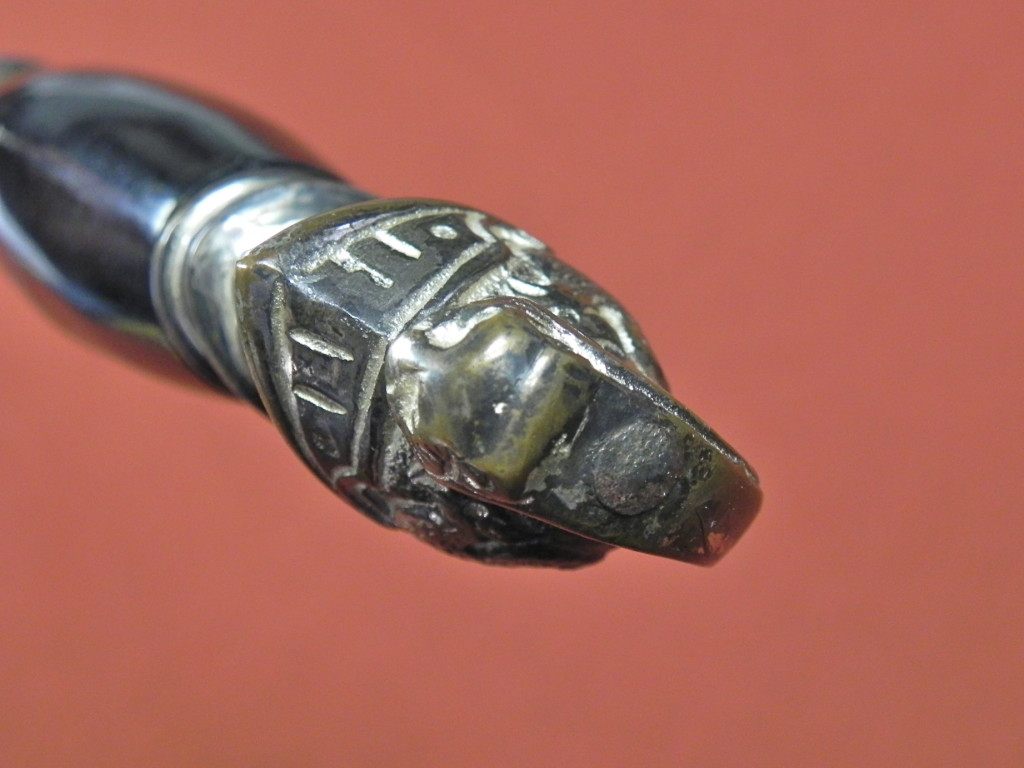 Vintage US USA Henderson Ames Co Masonic Sword w Scabbard