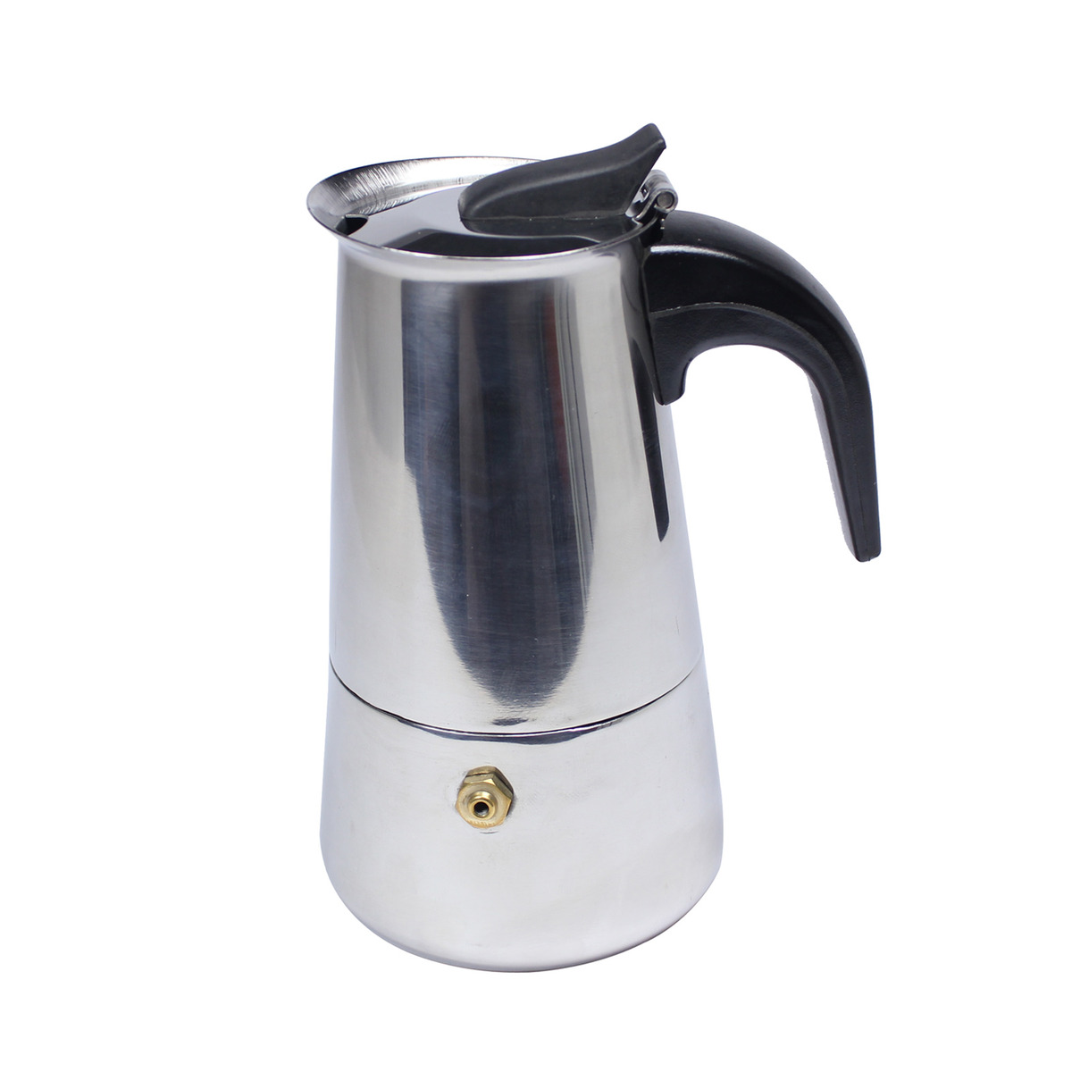 Italian Coffee Maker Stainless Steel : Italian 6-Cup Stainless Steel Expresso Coffee Maker MOKA POT+ GASKET HJ360C eBay