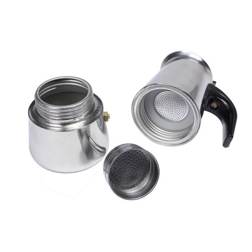 Italian Coffee Maker Seals : Italian 6-Cup Stainless Steel Expresso Coffee Maker MOKA POT+ GASKET HJ360C eBay