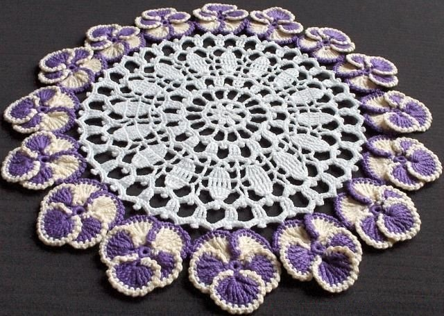 Talking CrochetTambour Work Doily - Crochet World Magazine