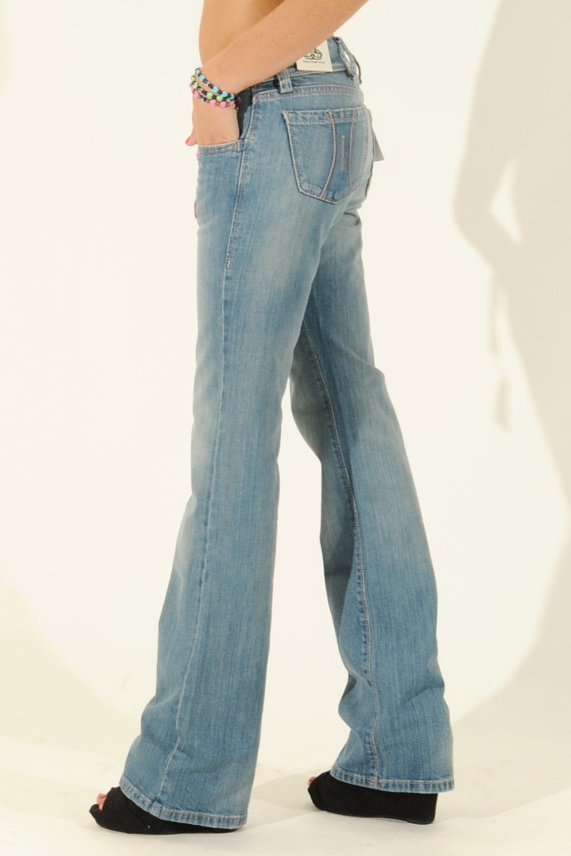 Fornarina Denim Bootcut Jeans KIM_4D Ladies UK Size 6 8 10 12 14 ...