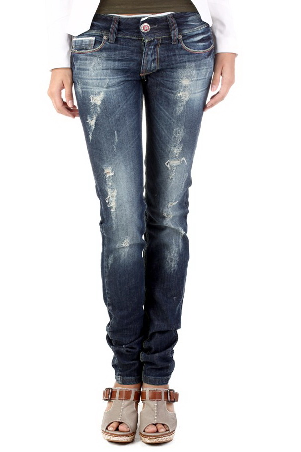 Ladies Indian Rose Distressed Straight Leg Jeans Womens UK Size 4 ...
