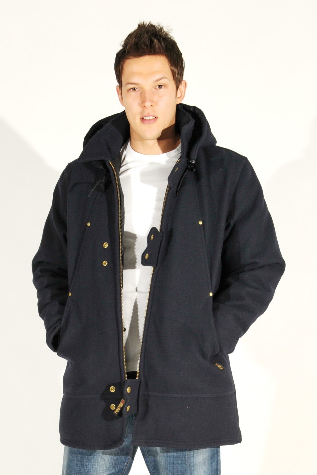 Richlu-Navy-Blue-Wool-Hydro-Parka-Down-Jacket-More-Sizes