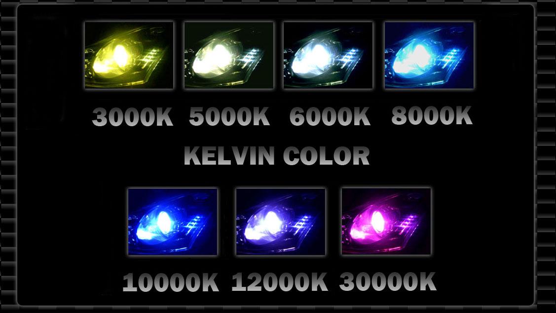 Xentec Super Slim 55W H4 HB2 9003 8000K Iceberg Blue HID Xenon Kit Low