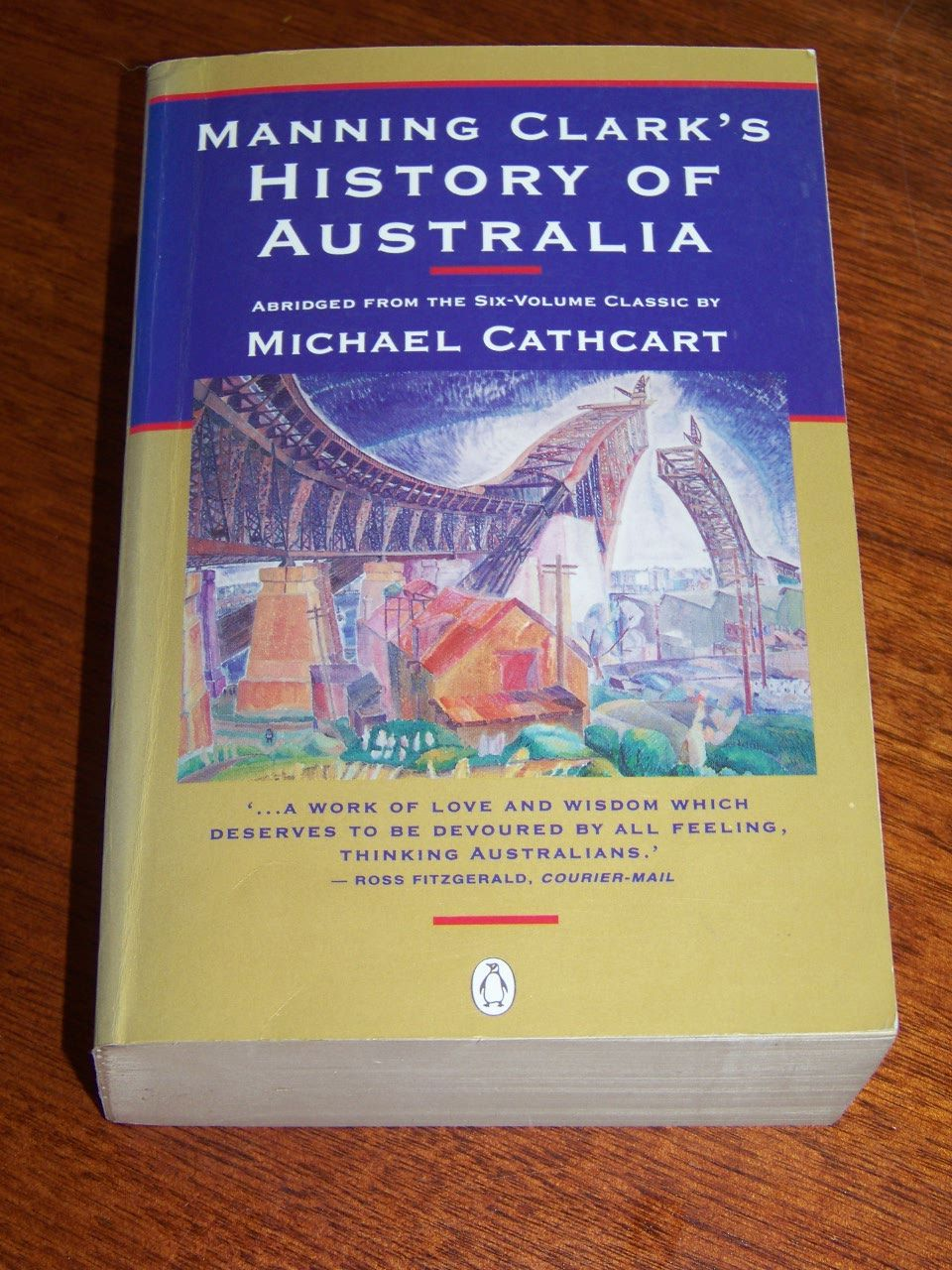 Manning-Clarks-History-of-Australia-1996-PB-Abridged-by-M-Cathcart