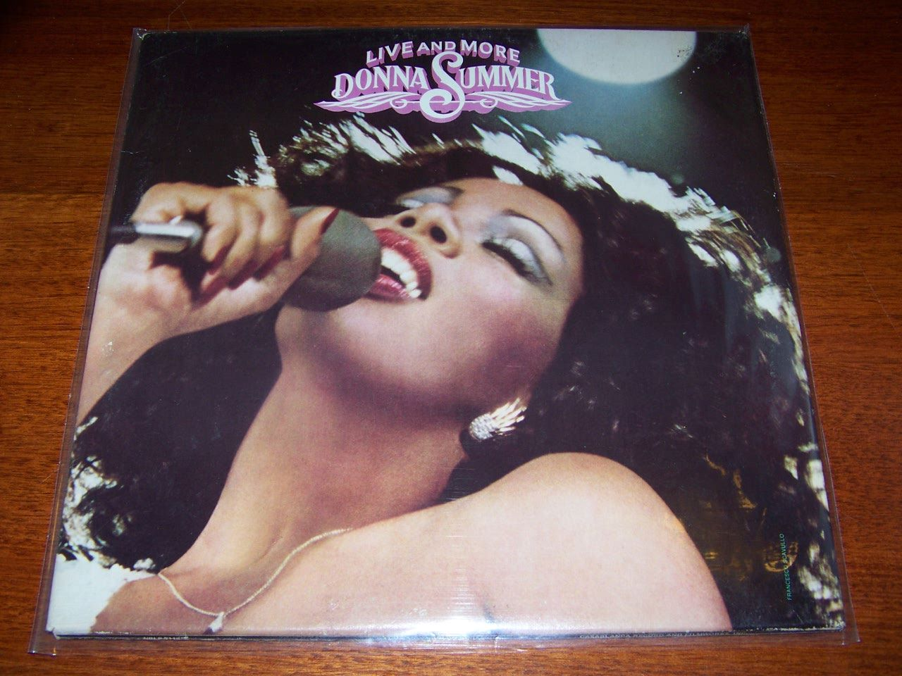 Live-and-More-Donna-Summer-NEAR-MINT-2Lp-Set-Double-Gatefold-1978