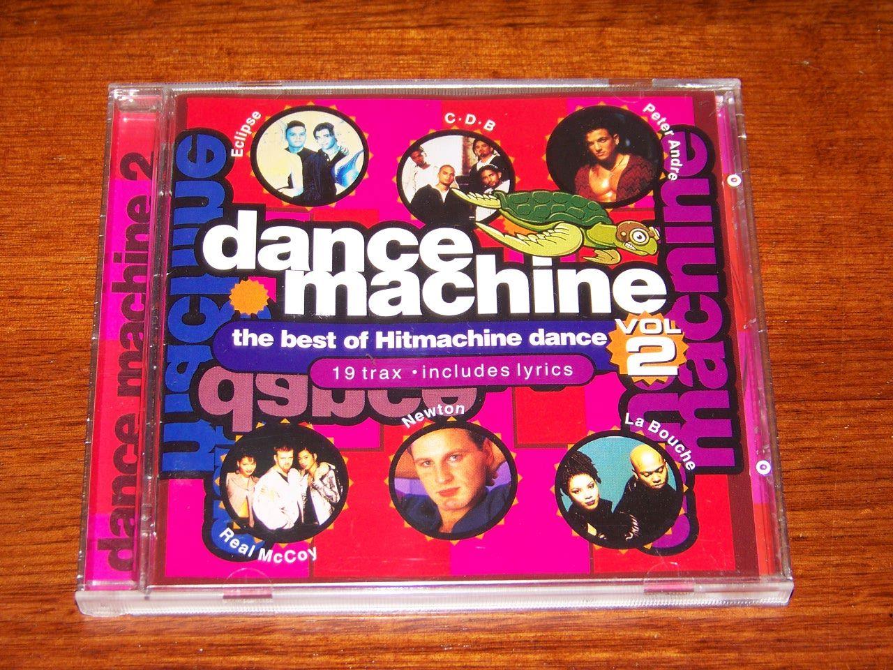 Dance-Macine-2-Like-NEW-Various-Artists-Best-of-Hit-Machine-Dance