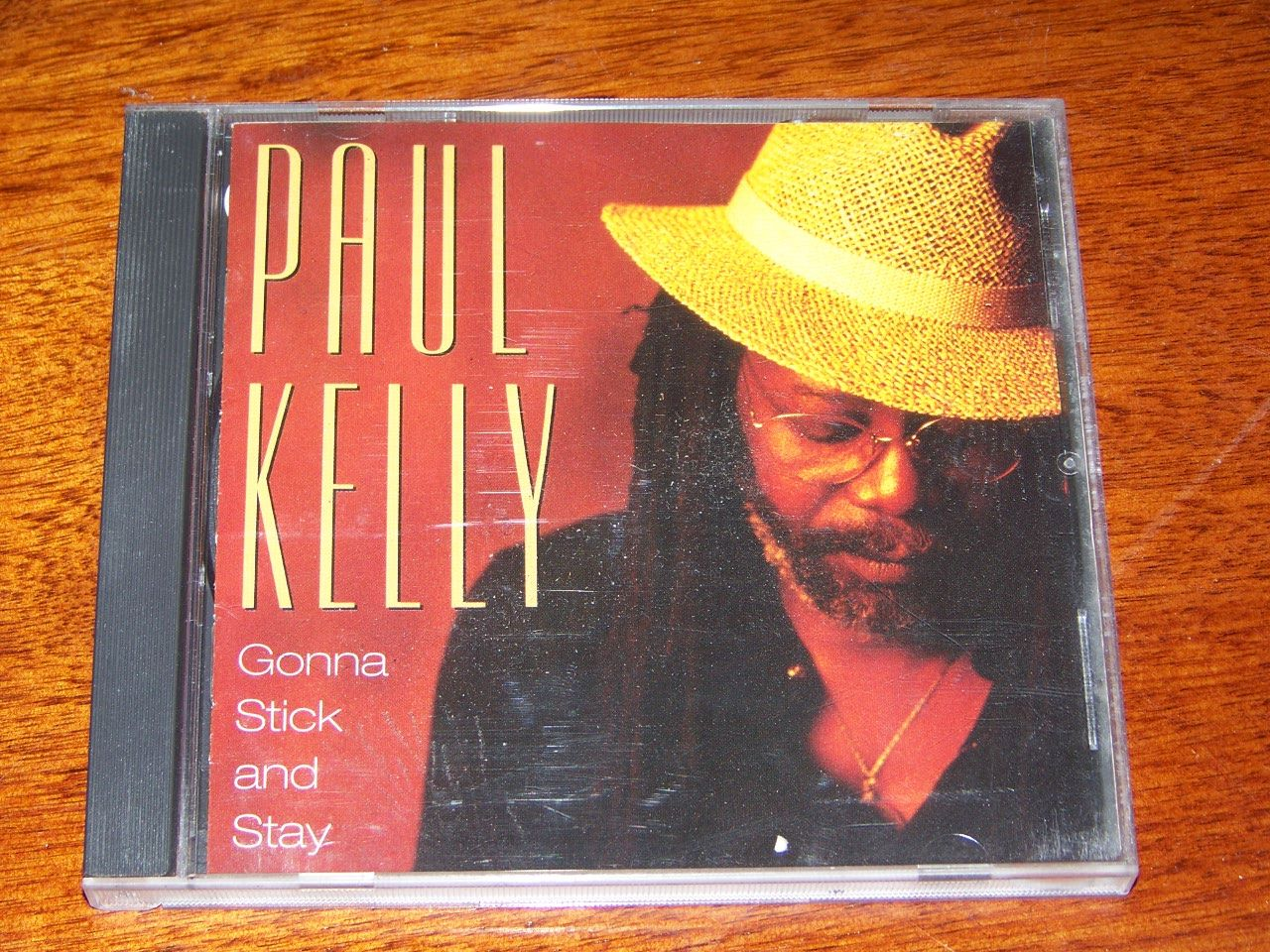 Gonna-Stick-and-Stay-Paul-Kelly-NEAR-MINT-1993-Blues-CD