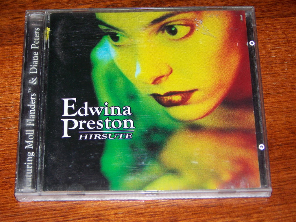 Hirsute-Edwina-Preston-EXCELLENT-1997-CD-Moll-Flanders