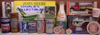 CHARLIES BEER CANS COLLECTIBLES