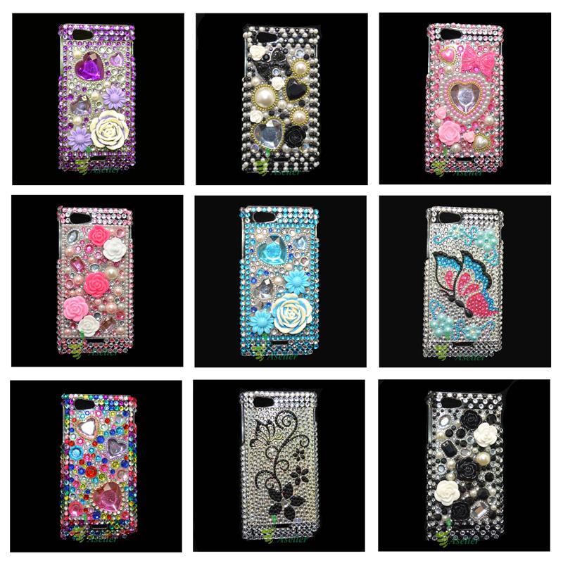 -Xperia-J-ST26i-Bling-Diamond-Case-Crystal-Rhinestone-Hard-Cover-SkinXperia J Cover
