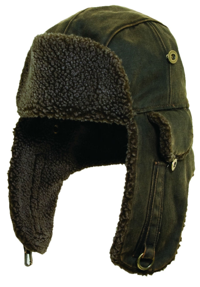 New-Mens-Trapper-Aviator-Bomber-Hat-Winter-Cotton-Fleece-Berber-Ear-Flap-M-L-XL