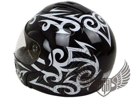 Black Tribal Tattoo Modular Flip Up Full Face Motorcycle  : JA111FU WKFLAME 6 <strong>Blue</strong> Motorcycle Helmet from ebay.com size 500 x 375 jpeg 71kB