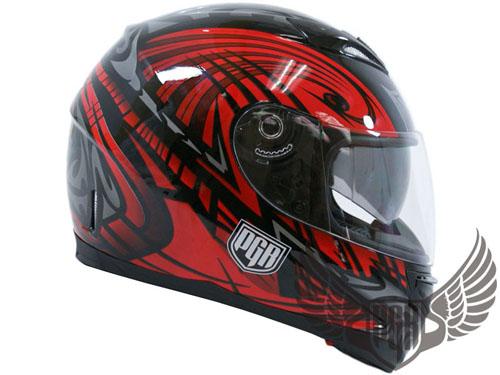 Dual Visor Motorcycle DOT Helmet Grey Black S Small