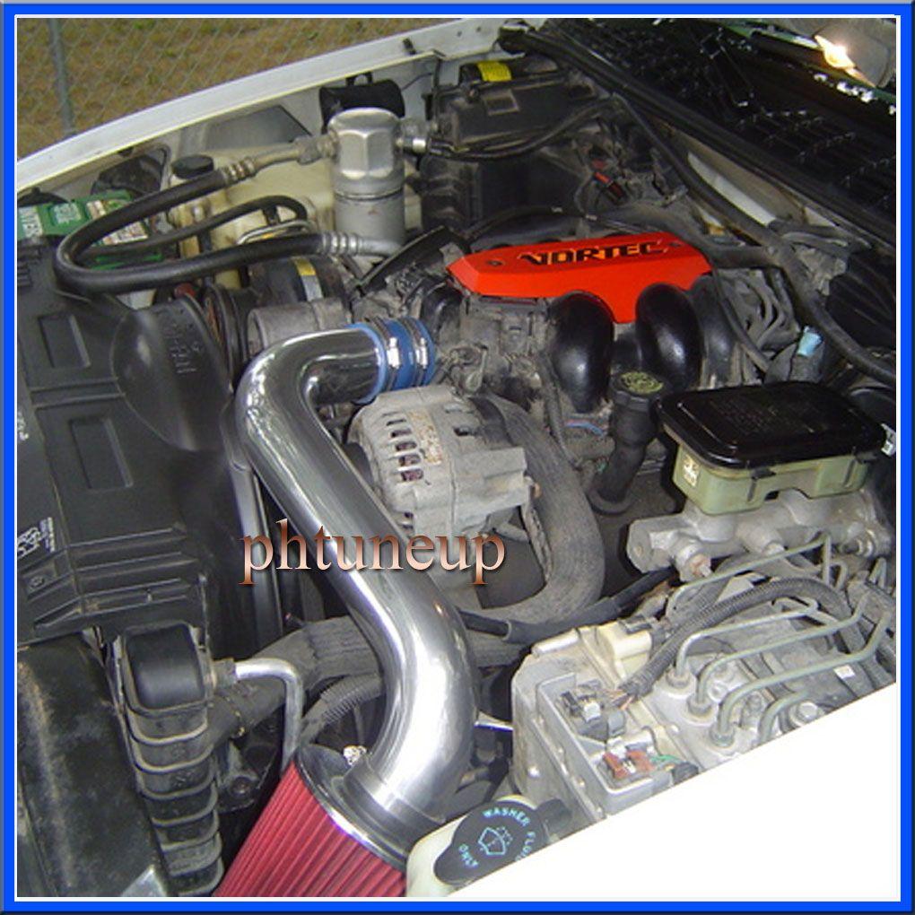 Oldsmobile Supercharger Kits: BLUE RED 1992-1994 OLDSMOBILE BRAVADA 4.3 4.3L V6 ( VORTEC