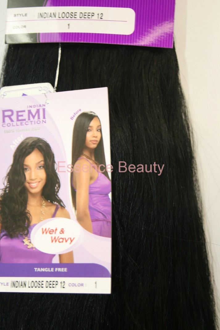 Indian Remi Collection 100 Human Hair Wet Wavy Loose Deep Weave