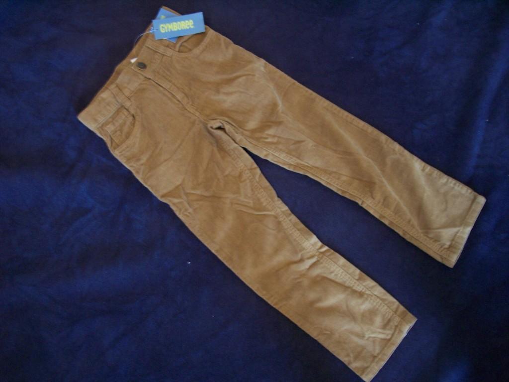 NWT-Boys-Gymboree-Snow-Tracks-brown-pants-5-7-slim