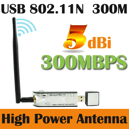 300M-Wireless-N-WiFi-USB-Adapter-Dongle-5dBi-Antenna-Aerial-High-Gain