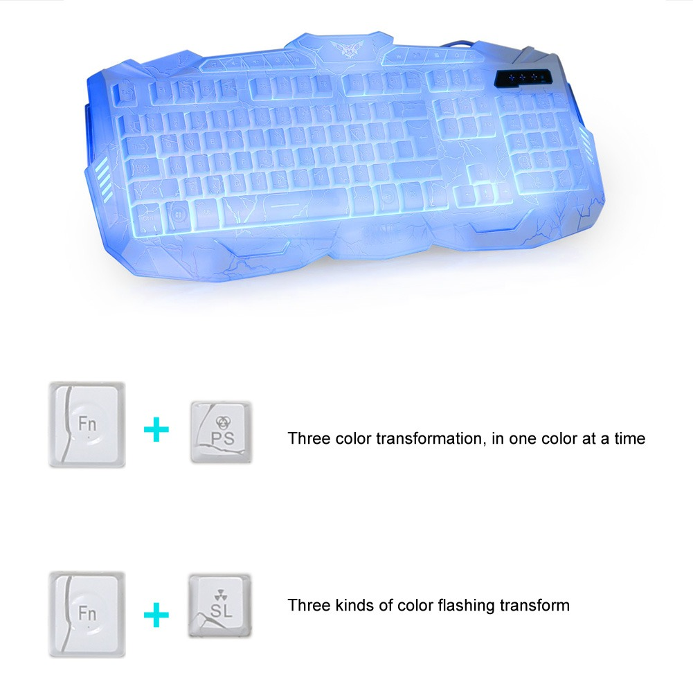 how to change led colours on eagletec mechanical keyboard