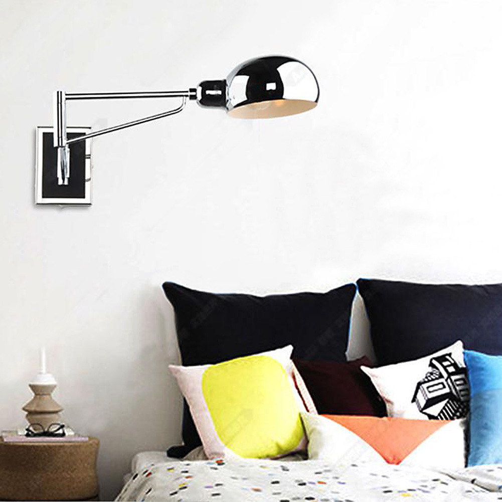 Hanging Reading Light: Modern Bedroom Reading Light Wall Lamp Hanging Lamp With