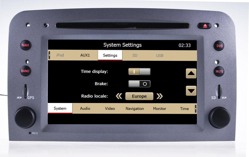 car stereo for alfa romeo 147 romeo gt autoradio gps sat nav headunit multimedia ebay. Black Bedroom Furniture Sets. Home Design Ideas