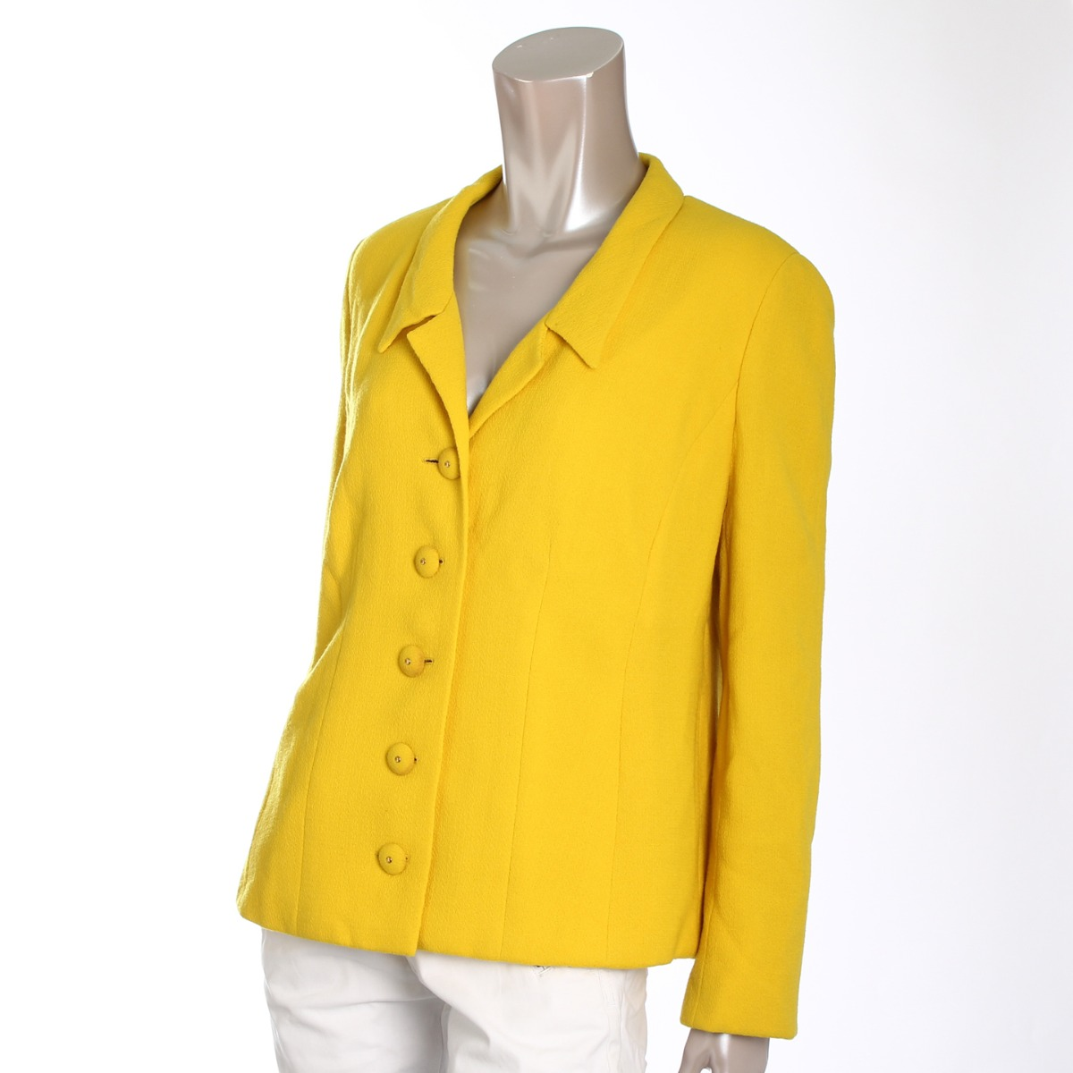 At authentic chanel 1980 39 s vintage haute couture line for Haute couture jacket