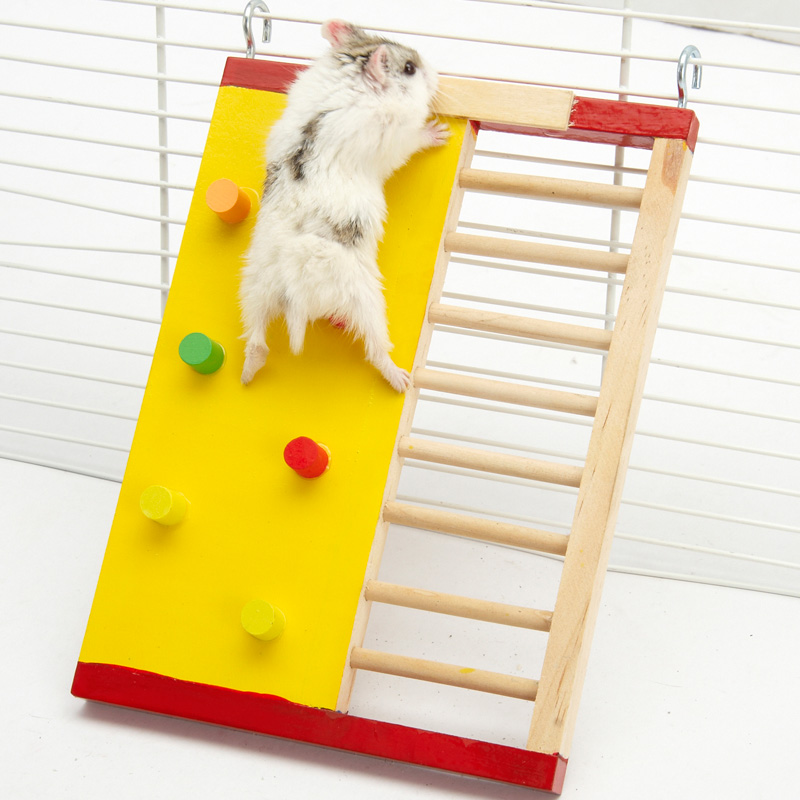 Details about New Wooden Hamster Furniture House Toy