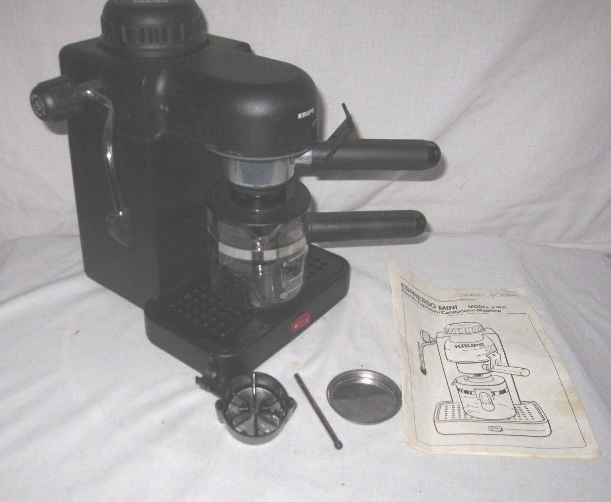 krups espresso machine mini