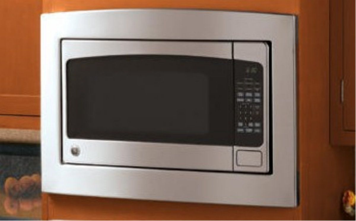 New in box ge jx2030smss 30 inch stainless steel built in for Microwave ovens built in with trim kit