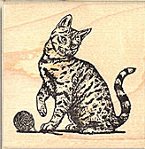 Cat stamps, kitten stamps