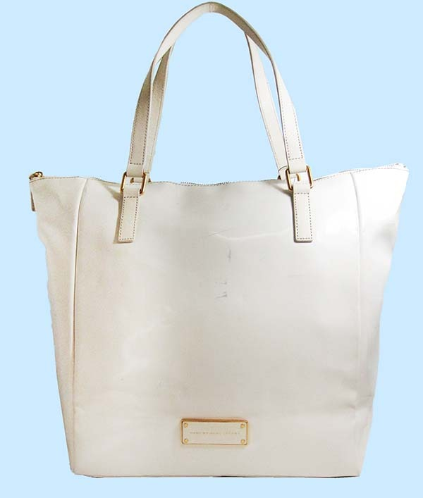 how to take care of white leather bags