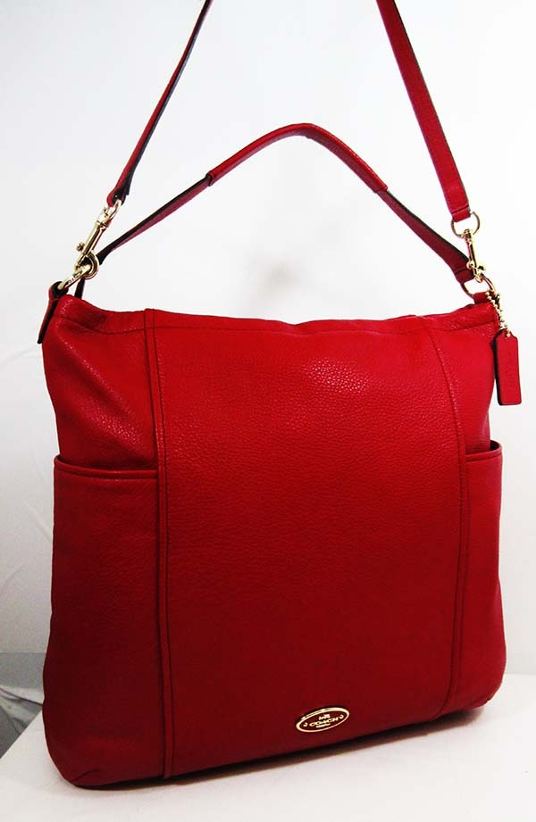 coach shoulder bag outlet  coach gallery 33436 red