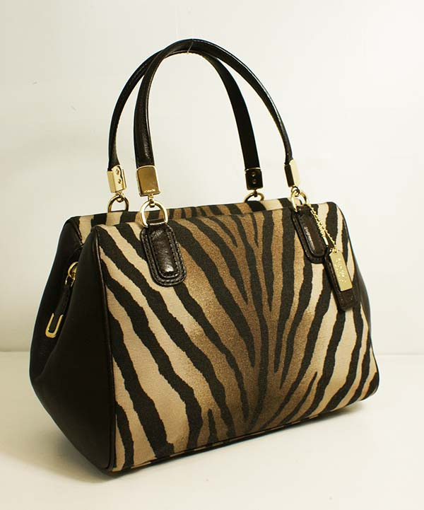 coach gray bag  coach 50507 madison small
