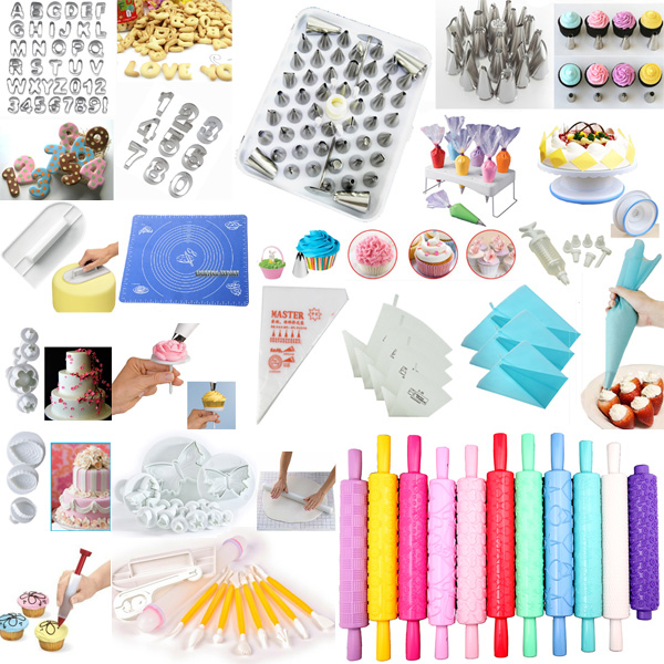 60-Styles-Sugarcraft-Cake-Cookie-Cupcake-Decorating-Fondant-Mould-Cutters-Tool