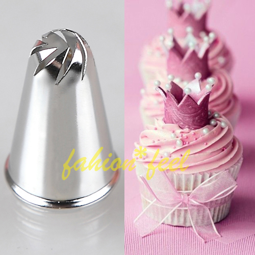 8 Styles Perfect Shapes Icing Piping Tips Cake Cupcake ...