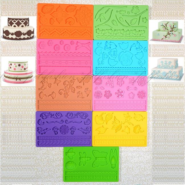 Cake Decorating Gum Paste Nz : Multi Design Fondant Gum Paste Mold Cake Decorating Best ...