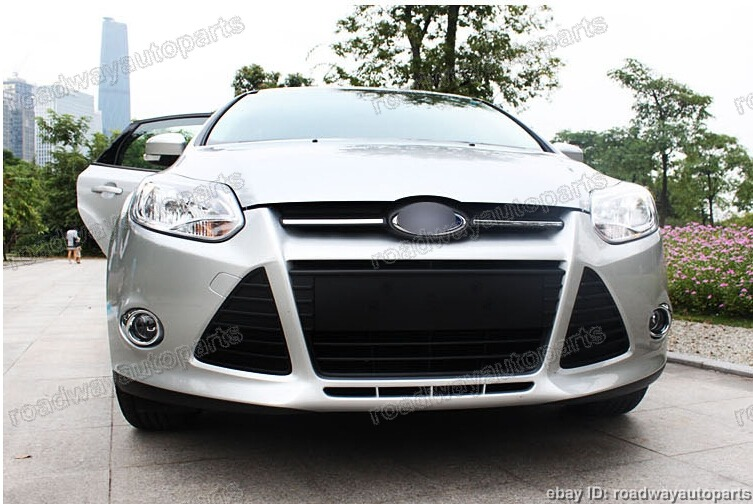 clear lens driving fog lights bumper lamps bulbs covers for ford focus 2012 2014 ebay. Black Bedroom Furniture Sets. Home Design Ideas