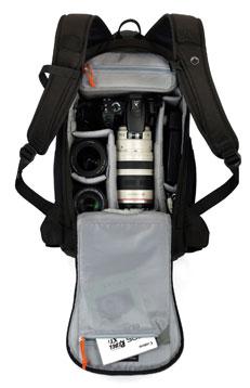 ...удобная оч. продам сумку для фотоаппарата (кофр) LowePro flipside 300.