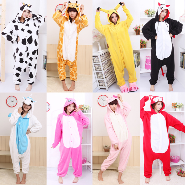 kigurumi anime pyjamas kostum schlafanzug overall. Black Bedroom Furniture Sets. Home Design Ideas