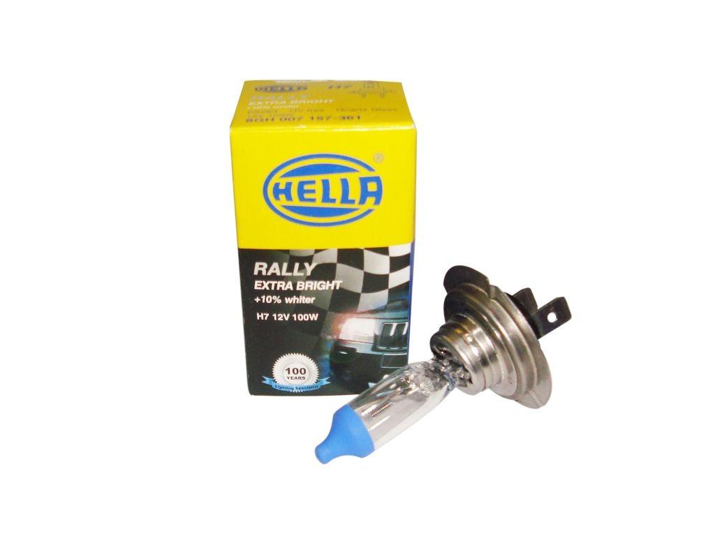 hella h7 bulb 12 volt 100w px26d upgrade headlight off. Black Bedroom Furniture Sets. Home Design Ideas