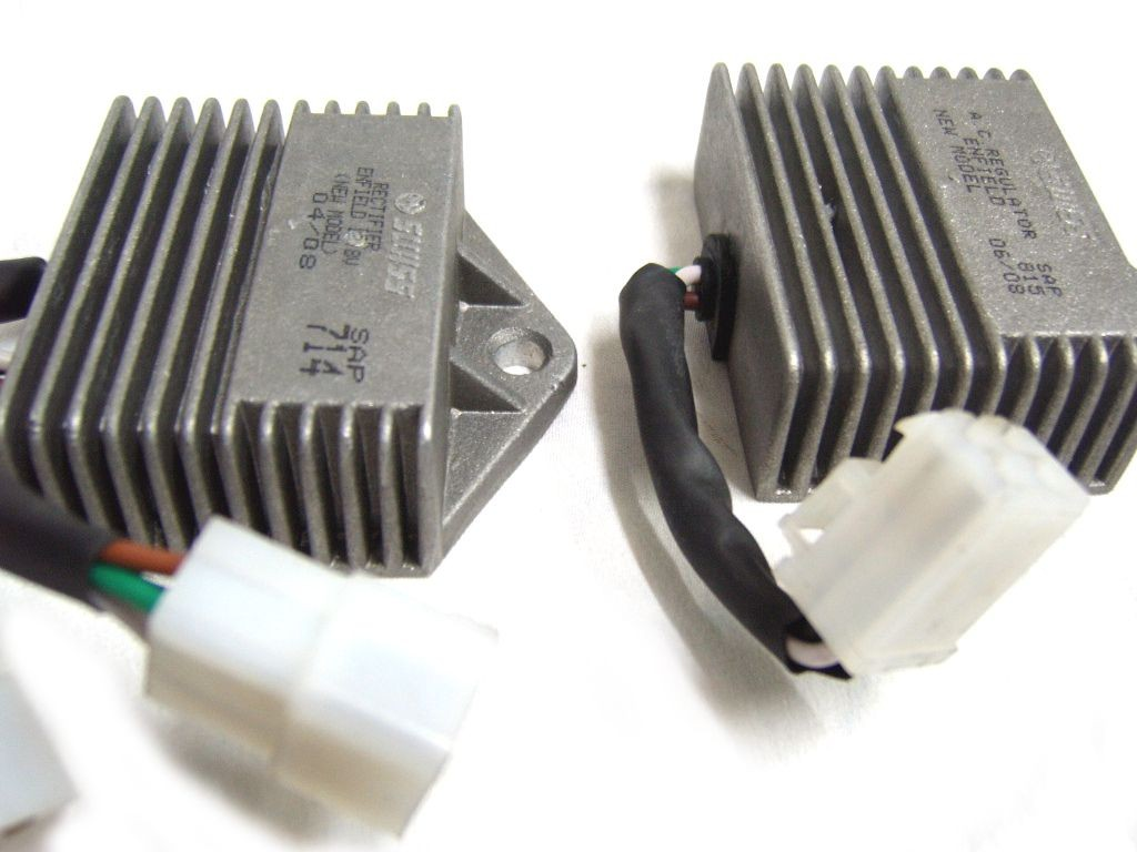 enfield 12v regulator rectifier unit kit 112241 42 cheapest restoring your royal enfield changing the wiring harness of your royal enfield bullet looking for the 12 volt regulator and rectifier which came fitted in