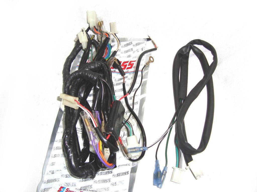 royal enfield thunderbird motorcycle complete wiring harness new 521004 ebay