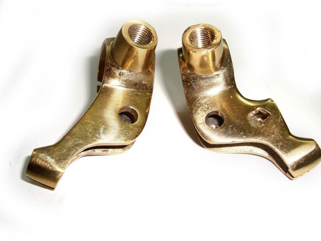 Antique Brake Lever : Bulletwala vintage brass front brake lever clutch