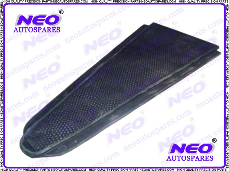 Vintage vespa vba center floor black rubber mat brand for Vba floor