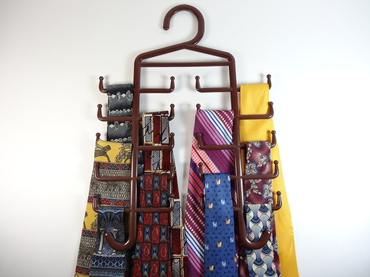 rack for large design closets tie ideas racks best home