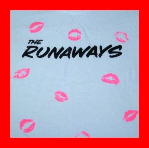 Vintage-THE-RUNAWAYS-1977-TOUR-T-SHIRT-joan-jett-70s-OG