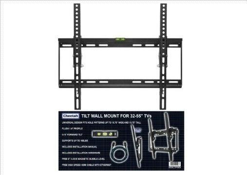Wall Mount Bracket For Flat Screen Tv Custom Cheetah Mounts Aptmsb Flat  Screen Tv Wall Mount