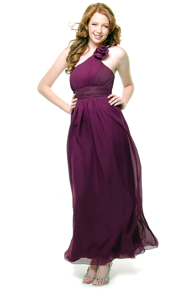 Prom One Shoulder Dress New Elegant Long Gown #5660